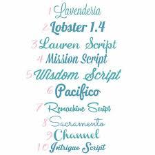 best free cutable cursive script fonts