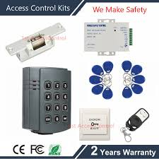 remote control complete 125khz rfid access control system kit access control