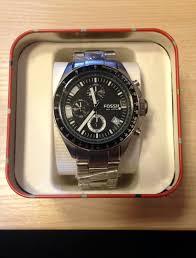 """men s fossil decker chronograph watch ch2600ie watch shop comâ""""¢"""