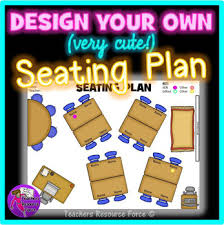 Editable Classroom Seating Chart Template With Movable Images