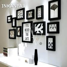 multi frame picture wall decor ideas for kitchen frames home modern living room fashion
