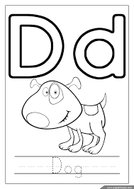 Sts look at the pictures and complete with this or that. Letter D Worksheets Flash Cards Coloring Pages