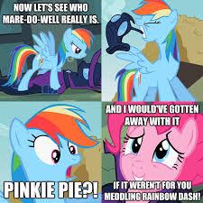 Meddling Rainbow Dash | My Little Pony: Friendship is Magic | Know ... via Relatably.com
