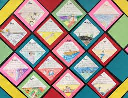 creative timelines for school projects first grade spies class memory quilt