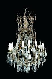 antique french crystal chandelier century french chandelier vintage french empire crystal chandelier