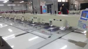 Famous Down Jacket factory running Richpeace 6 head automatic ... & Famous Down Jacket factory running Richpeace 6 head automatic sewing machine  down jacket sewing - YouTube Adamdwight.com