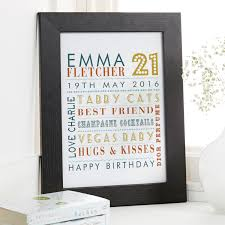 personalised typographic special birthday prints canvases word art for walls on personalised canvas wall art uk with personalised typographic special birthday prints canvases word
