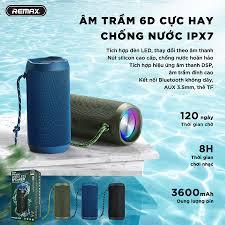 Loa bluetooth mini chính hãng chống nước bass mạnh, loa bluetooth xách tay  hát karaoke ICYBERNET REMAX RB-M28PRO - Loa