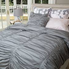 gray bedding  gray duvet covers and sheets  crane  canopy