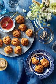 Savory meatballs made from shiitake, sweet potato, and beef will be a hit at parties. 100 Best Party Appetizers And Recipes Southern Living