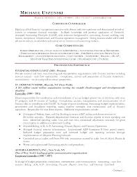 Alluring Sample Finance Controller Resume For Financial Controller