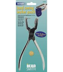 beadsmith rotary hand sewing leather punch
