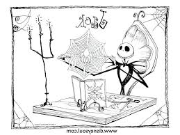 Jack Skellington Coloring Pages Black And White Get Coloring Page