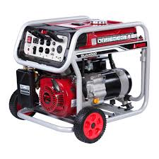 A iPower 4500 Watt Gasoline Powered Portable Generator SUA4500