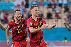 Neuroathlektik bei der EM 2021: Was zeigt Thorgan Hazard da? - Fußball -  Stuttgarter Nachrichten