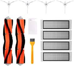 <b>Accessory for Xiaomi MI</b> Robot Vacuum Cleaner, 2 Central Brushes ...
