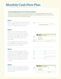 Monthly Cash Flow Chart Templates At Allbusinesstemplates
