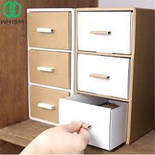 diy storage box storage box paper stationery storage bin desktop remote control holder makeup organizer drawer