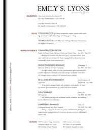 Communication Resume Examples Berathen Com