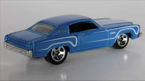 Hot Wheels Cars Muscle Mania 2011 '70 Monte Carlo - YouTube