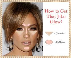 how to get that j lo glow highlighting map tutorial and suggestions for duplicating jennifer lopez s famous glowy makeup