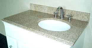 bathroom vanity tops offset marvelous top with right bowl 48 inches