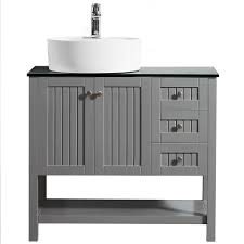 full size of countertops small recycled glass vanities display recessed cutting menards spaces frosted winsome inlay