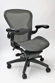 Aeron Office Chair Size Chart Herman Miller Aeron Chair Fully Featured Size C Gray