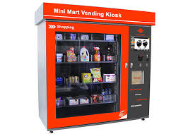 Touch Screen Vending Machines Stunning Touch Screen Mini Mart Vending Machine Business Station Automated