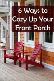 the porch furniture. how to cozy up your front porch the furniture