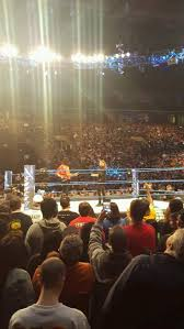 Td Garden Wrestling Seating Chart Td Garden Section Loge 1 Row 1 Seat 20 Wwe Smackdown
