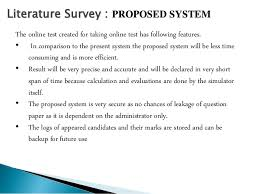 Literature review on online quiz system   Google Docs