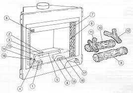 creative design fireplace parts g400 series