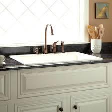 33 kitchen palazzo cast iron drop in kitchen sink 8 widespread biscuit 33 kitchen sink undermount