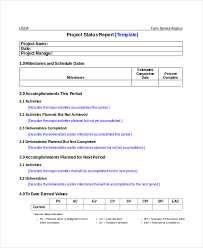 Project Status Report Template - 17+ Free Word, Pdf Documents ...