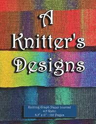 Book Knitting Graph Paper Journal 4 5 Ratio 8 5 X 9788 819