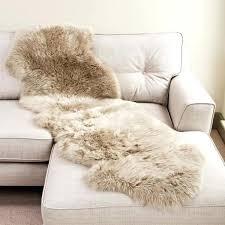 sheepskin rug large uk organic for baby faux