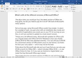 Micorsoft Office Word Which Version Of Microsoft Office Do I Need Bt