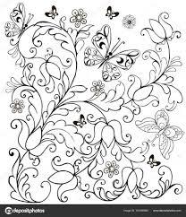 25 Zoeken Kleurplaten Bloemen En Vlinders Mandala Kleurplaat Voor