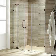 frameless shower door oil rubbed bronze