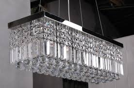 luxury modern rectangular chandelier