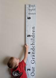 Our Grandchildren Growth Chart Ruler How To Grow Taller