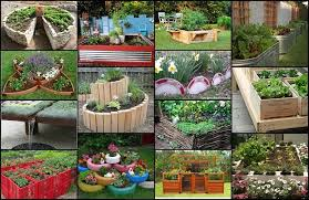 Small Picture 20 Unique Fun Raised Garden Bed Ideas