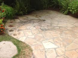 flagstone mold algae improperly sealed patio dirty natural natural stone r96