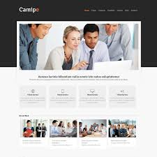 Responsive Website Template Delectable Camipe Responsive Website Template Responsive Website Templates