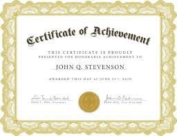 Certificate Of Achievement Word Template Certificate Of Completion Template Microsoft Fresh Template Diploma 22