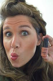 grab the brightening glow and spray along your laugh lines as shown in the outlines photo you ll need to get the area between your top lip and your nose