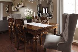 vibrant creative dining room host chairs refined romantic luxury 45 5 chair in gray mathis brothers with chenille for