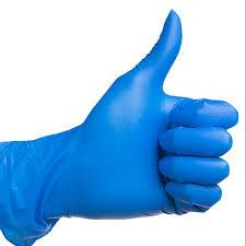 Nitrile <b>blue glove</b> powder free   Shopee Malaysia