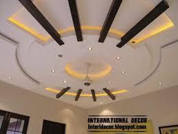 unique false ceiling pop design with led lighting 2016